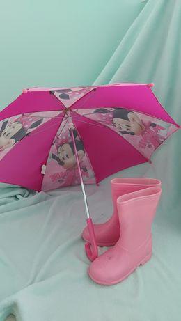 Parasolka Myszka Mini różowa
