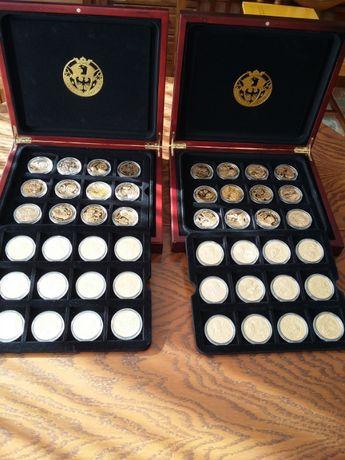 Wielcy Polacy -kolekcja medali platerowanych 24-karatowym złotem