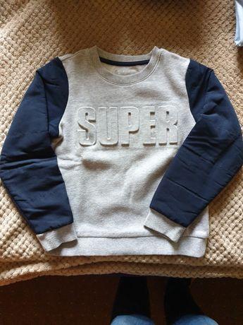 Bluza tchibo dla chłopca ocieplana w wieku 7-8 lat rozm 122/128