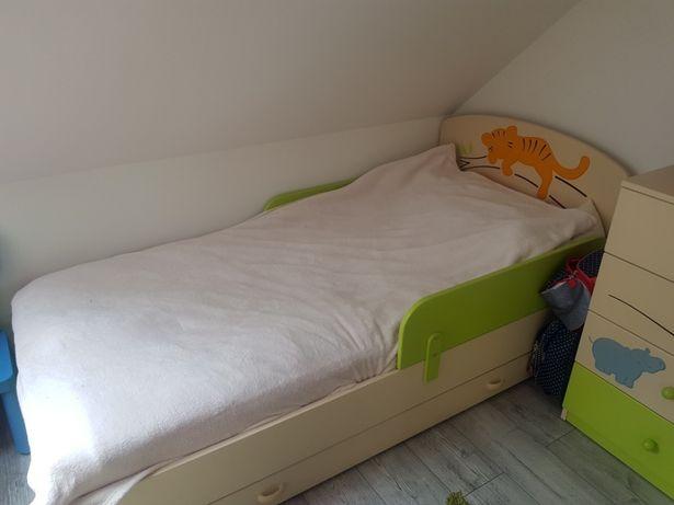 Łóżko Meblik Sawanna 90*190 z dwoma materacami