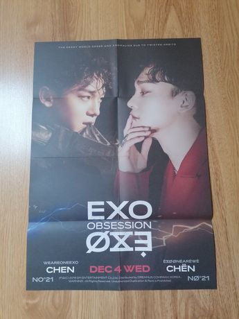 Plakat EXO obsession - Chen