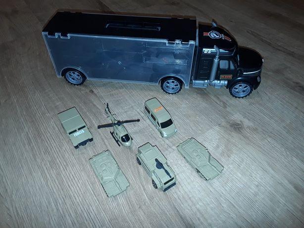 Tir-laweta, ciężarówka