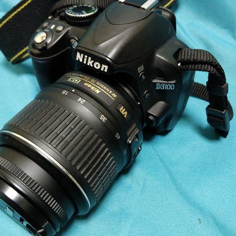 Фотоаппарат Nikon d3100 + kit AF-S DX 18-55mm