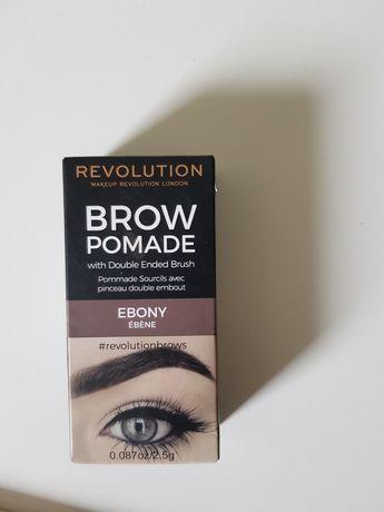 Pomada do brwi Brow Pomade  Revolution Ebony . J.nowa