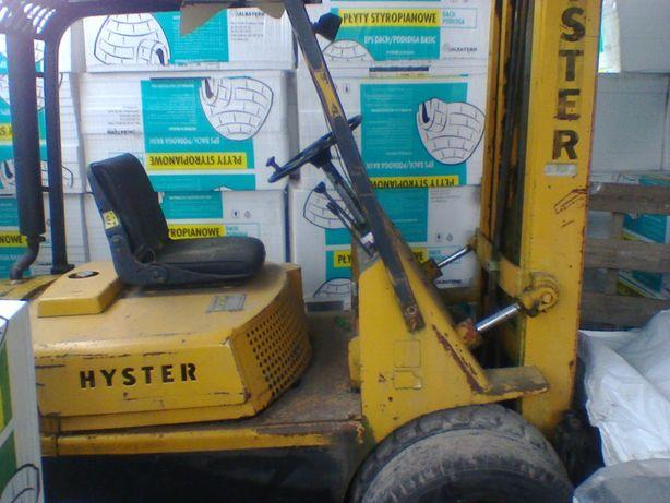Wózek widłowy Hyster h50 Linde Yale h25 D terenowy bliźniaki diesel
