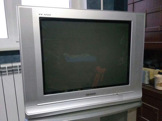 Телевизор Samsung + тумбочка + dvd bbk (самовывоз)