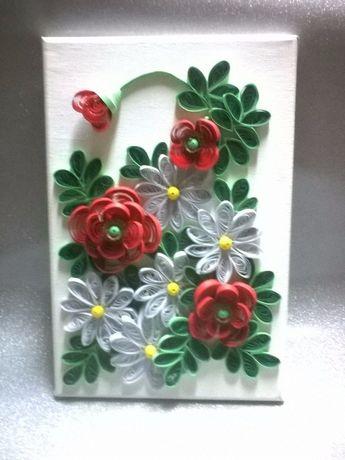 Obraz kwiaty 20 X 30 cm.