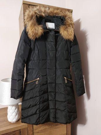 Plaszcz kurtka z naturalnego pierza z jenotem However 40 L