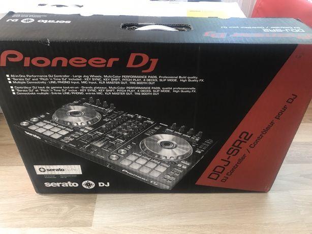 Контроллер Pioneer DDJ SR2 новый! Полный комплект!