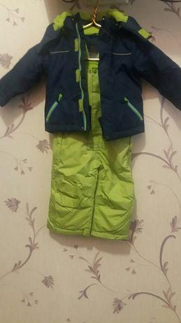 Лыжный костюм на мальчика .Рост74-80 см.