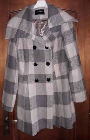 Płaszcz płaszczyk szary w kratę | Atmosphere Primark 38 / UK 10 / S