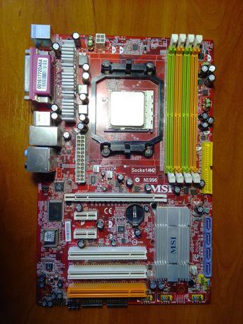 Материнская плата AMD, на сокете AM2