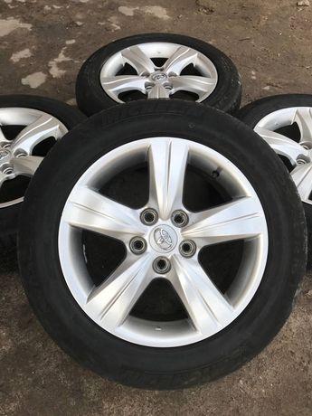 Оригинальные диски Japan Toyota, Lexus, Suzuki 5/114.3 r16 с резиной