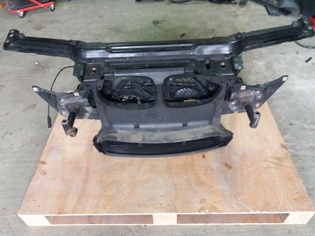 Pas Przedni e46 Coupe Cabrio Kompletny z Wentylatorem..