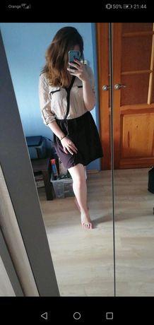 Sukienka pagony elegancka, sportowa kieszonki