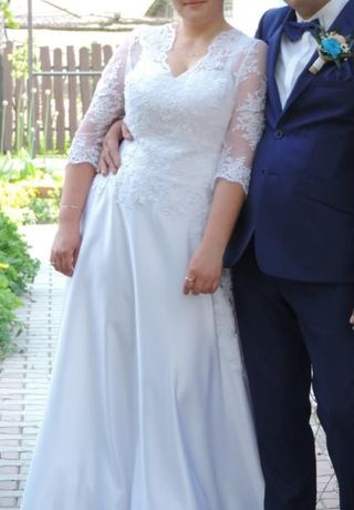 Sprzedam suknie ślubną 40/42