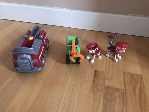 Psi patrol figurki pojazdy marshall rocky