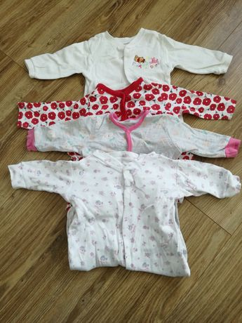 Pajace niemowlęce r. 74 4 sztuki