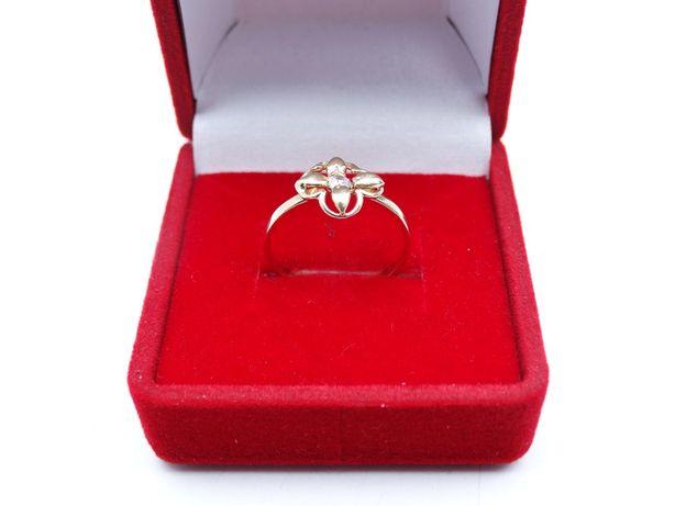 Piękny złoty pierścionek P585 1,28g r10 LOMBARD66