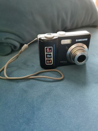 Samsung Digimax S500. Aparat cyfrowy.