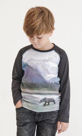 Кофта реглан футболка Reserved 110 лонгслив лонслів хлопчика мальчика