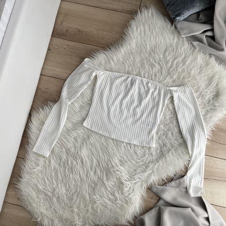 Bluzka off shoulder gina tricot