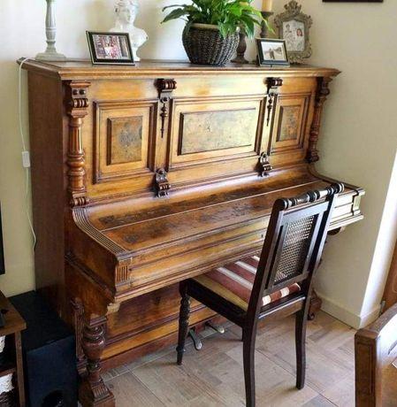Pianino drewniane antyk