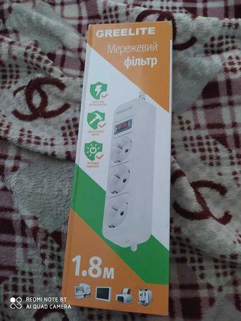 Переноска На 3 разъема с выключателей