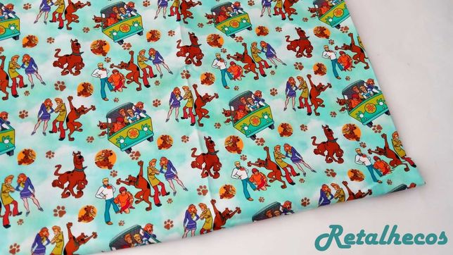 Retalhos Disney 50 x 50 cm