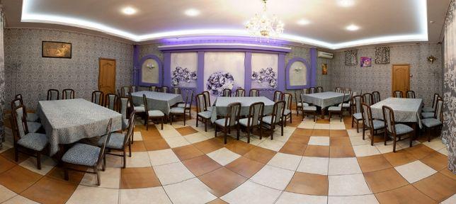 Свадебный банкет от 500 грн/чел, зал до 80 чел в Кафе Арлекино