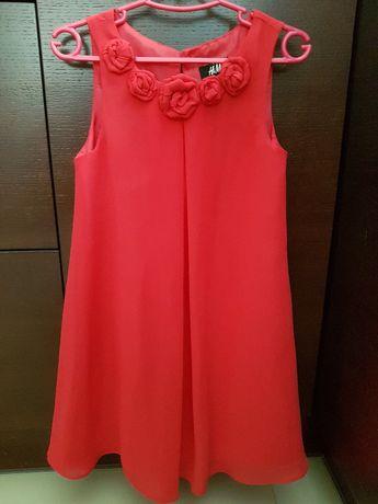 6 szt Sukienka letnia r. 110 5 lat sukienki paka