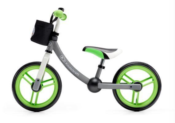 Nowy lekki rowerek biegowy dla dzieci + 18 msc Kinderkraft 2 Way Next