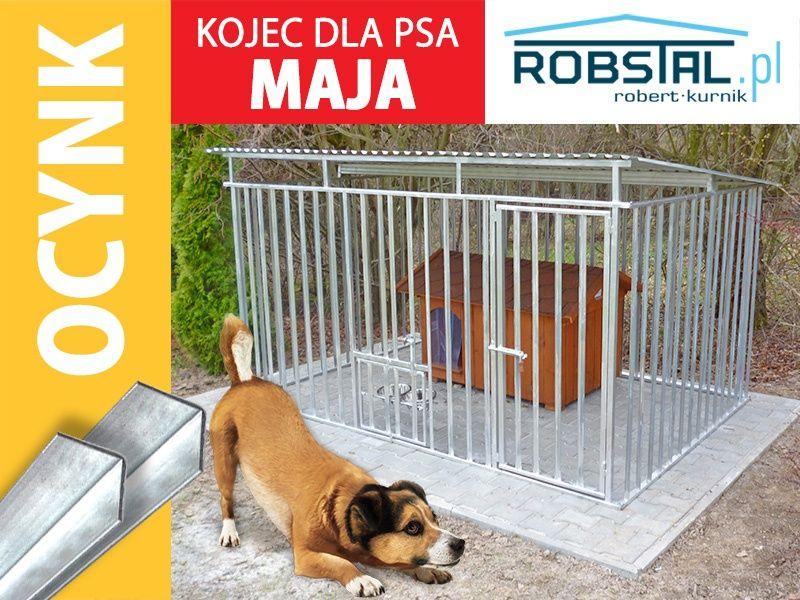 Kojec dla psa MAJA klatka box ocynkowany kojce z zadaszeniem producent Aleksandrów Kujawski - image 1