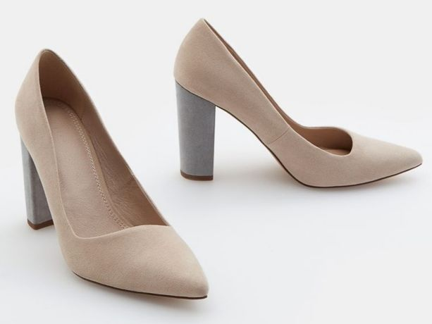 Замшеві туфлі-лодочки нові