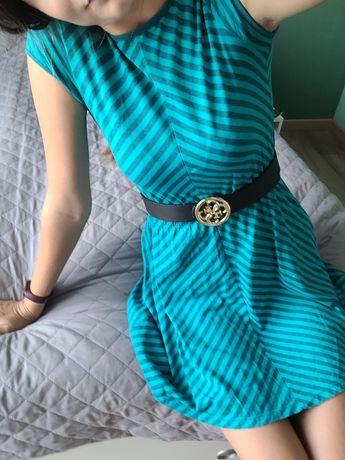 Piękna sukienka w paski