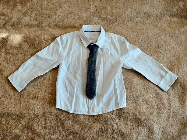 Koszula z krawatem na 2-3 latka