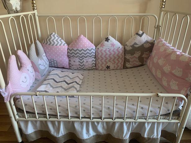 Бортики для ліжечка
