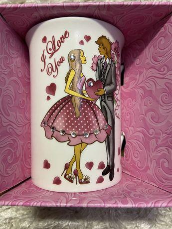 Чашка для влюбленных / чашка на 14 февраля
