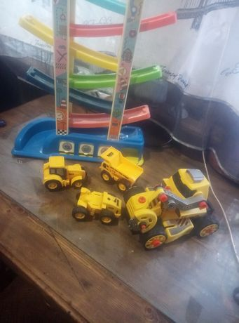 Набор машинок тракторов