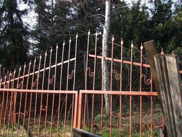 brama kuta-+bramka-6 metrw NOWA pokryta podkadem-minia