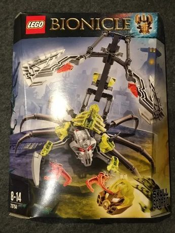 Lego Bionicle 70794 Czaszkowy Skorpion - nowy plomby