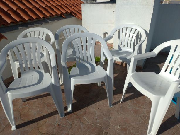 16 cadeiras exterior