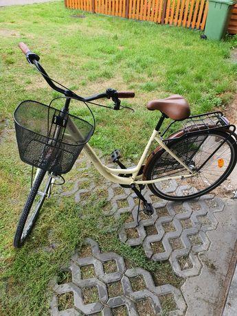 Piękny rower miejski damka saveno andra koła 28  nie romet stan bdb +