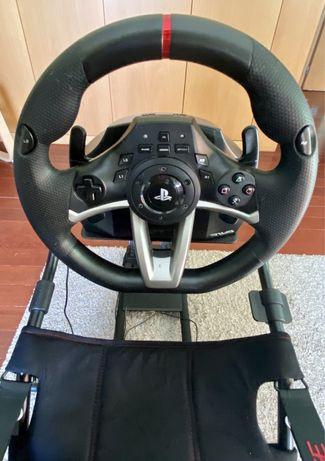 Volante Hori Apex Racing PS4/PS3 com Pedais