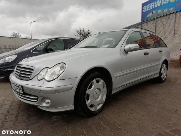 Mercedes-Benz Klasa C Zarejestrowany Xenon Tempomat Park Tronik