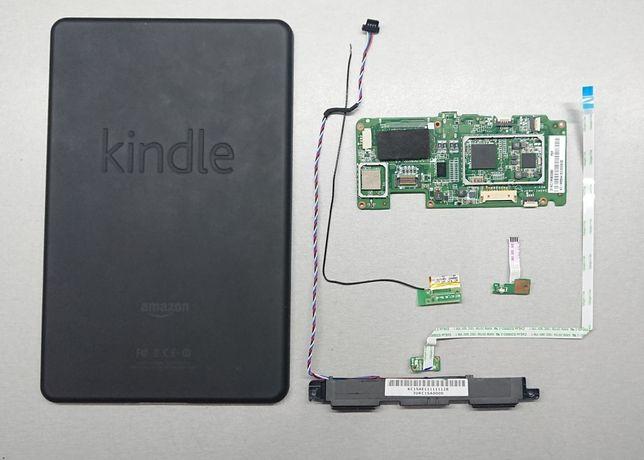 Планшет Amazon Kindle D01400 Разборка. Крышка, шлейф, динамик