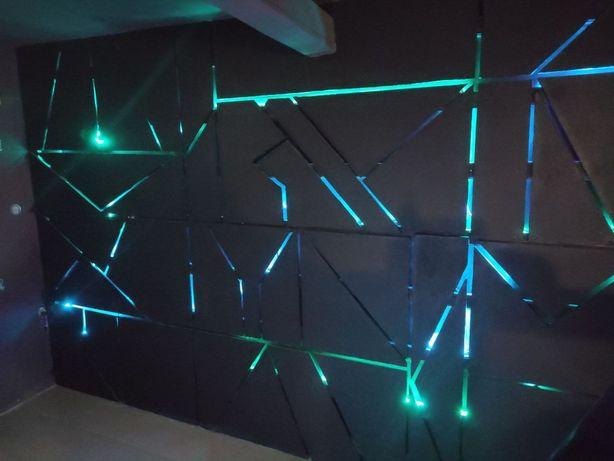 Декоративные стены из гипсокартона