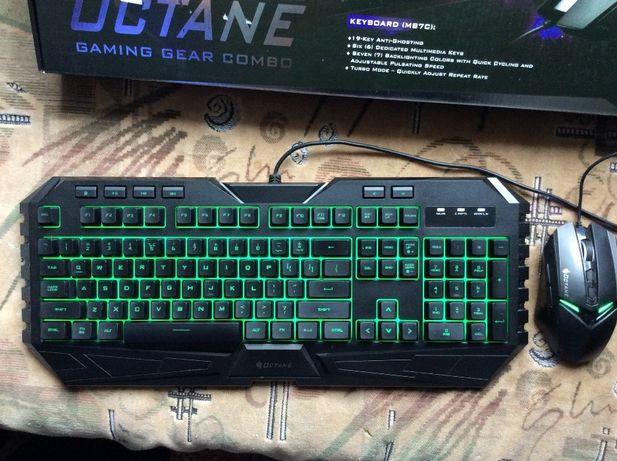 Продам Клавиатуру с мышкой Cooler Master STORM OCTANE ТОРГ