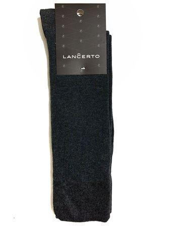 Skarpety Lancerto szare w niebieskie paski