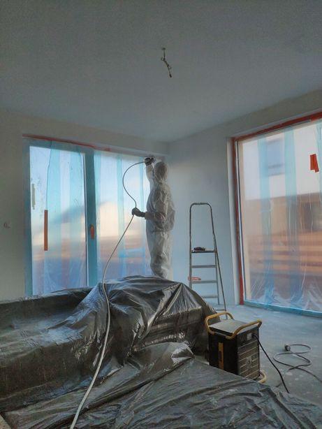 Nakładanie gładzi, szpachlowanie, malowanie, zabudowy g/k